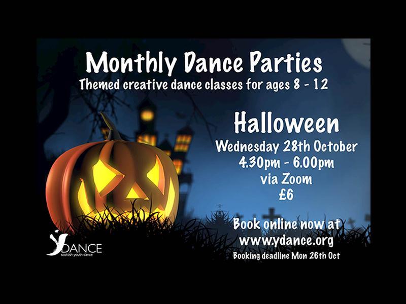 Monthly Dance Parties - Halloween