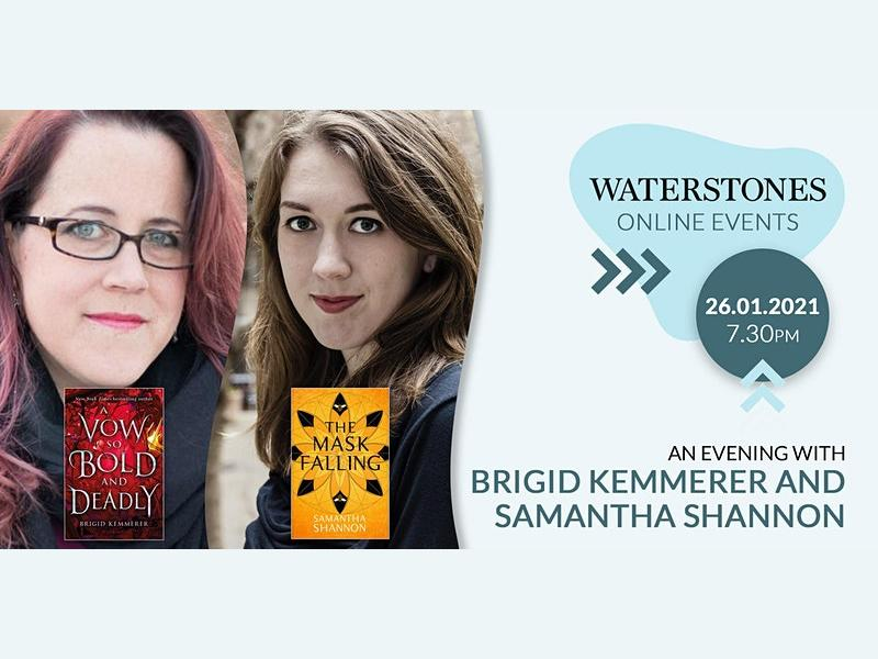 An Evening With Brigid Kemmerer and Samantha Shannon