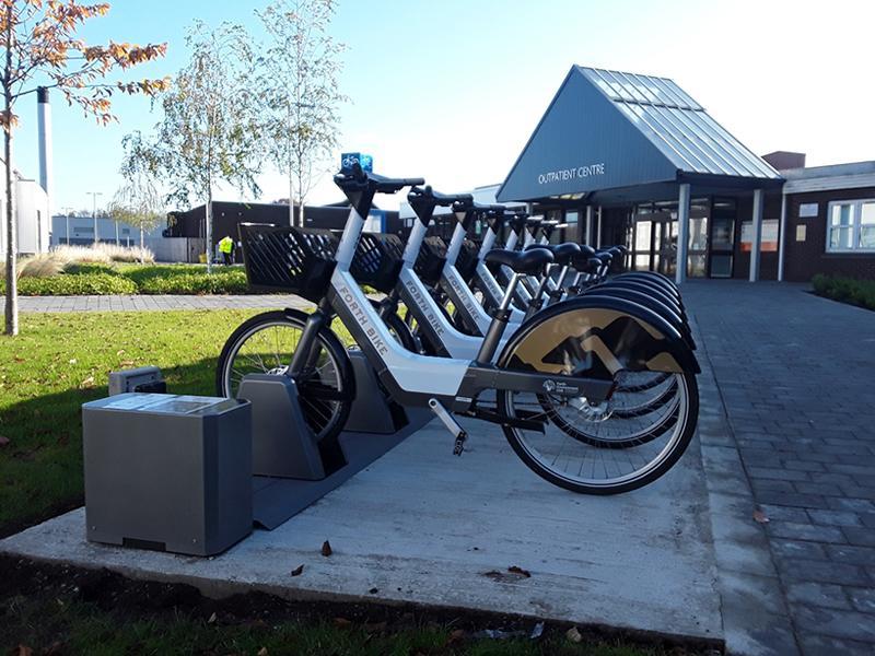 Forth Bike users circle globe twice in first year