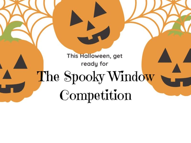 Eaglesham and Waterfoot Spooky Window Competition