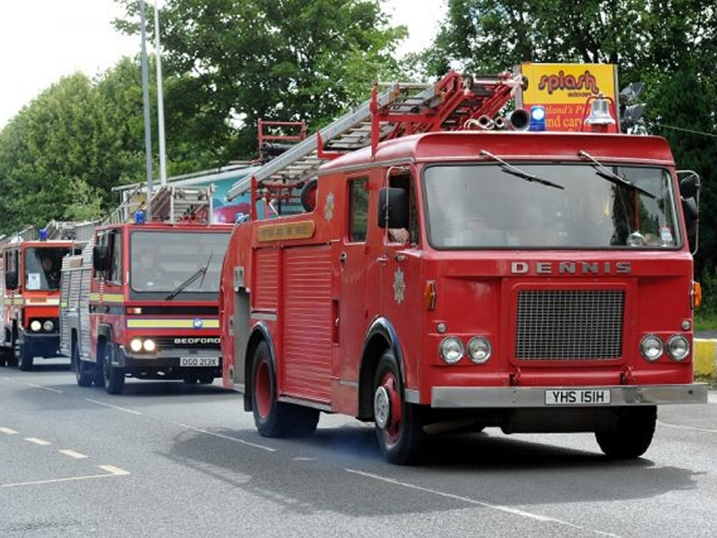 Johnstone Fire Engine Rally