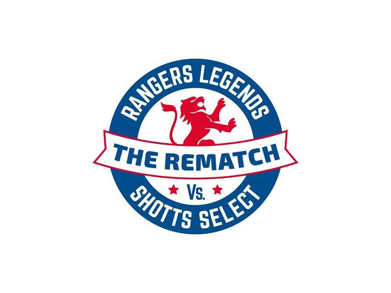 Rangers Legends v Shotts Select Charity Rematch