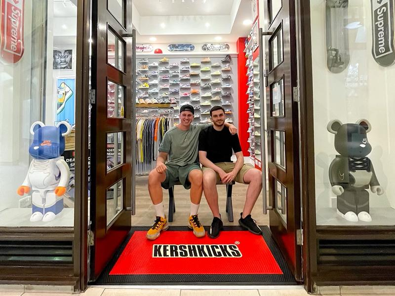 Brothers put best foot forward to launch new Glasgow sneaker store