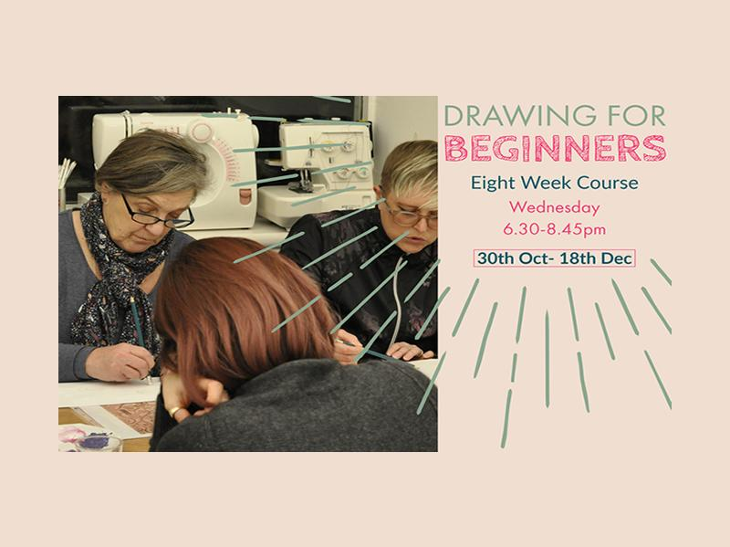 Drawing for Beginners: 8 Week Course