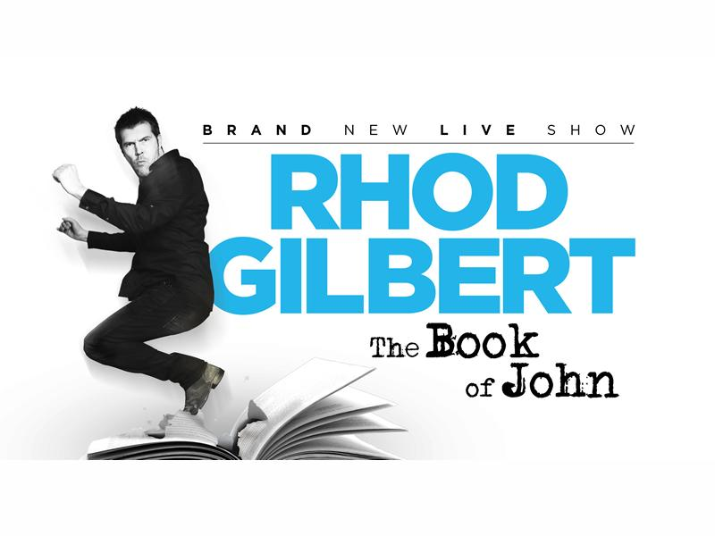 Rhod Gilbert - The Book of John - RESCHEDULED DATE