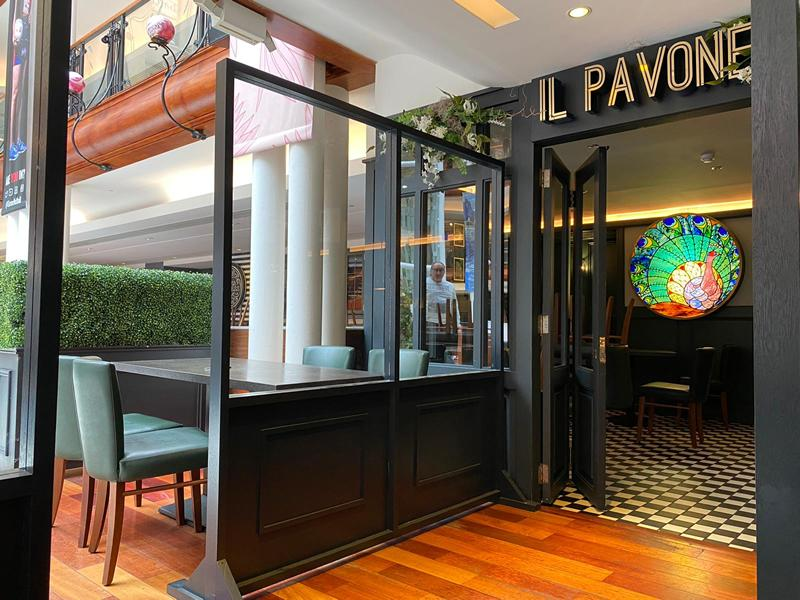 Il Pavone announces opening date and unveils new COVID safe look for guests