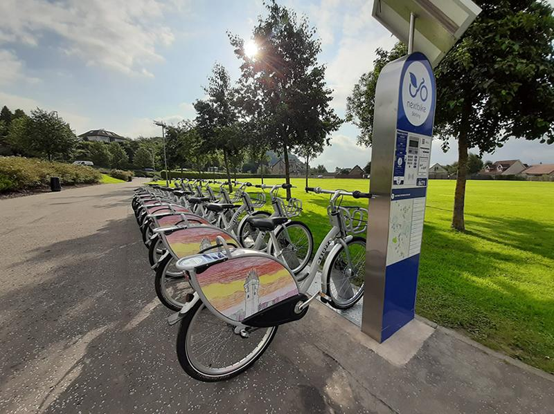 First school bike share scheme in UK launched in Stirling