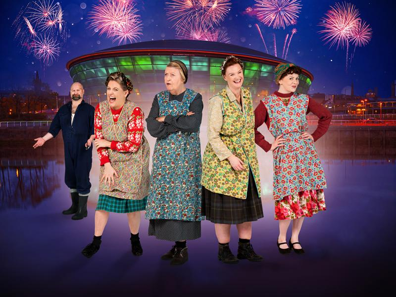 Cast announced for the revamped The Steamie at The SSE Hydro!