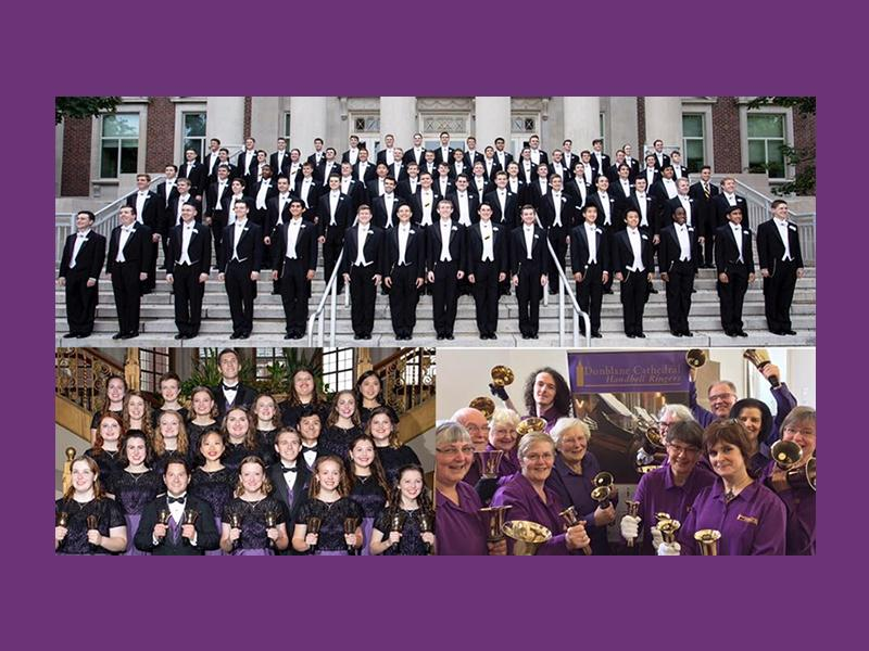 Free concert: Purdue University Handbell Ensemble, Glee Choir and Dunblane Cathedral Handbell Ensemble