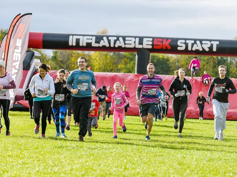 inflatable5k - Glasgow