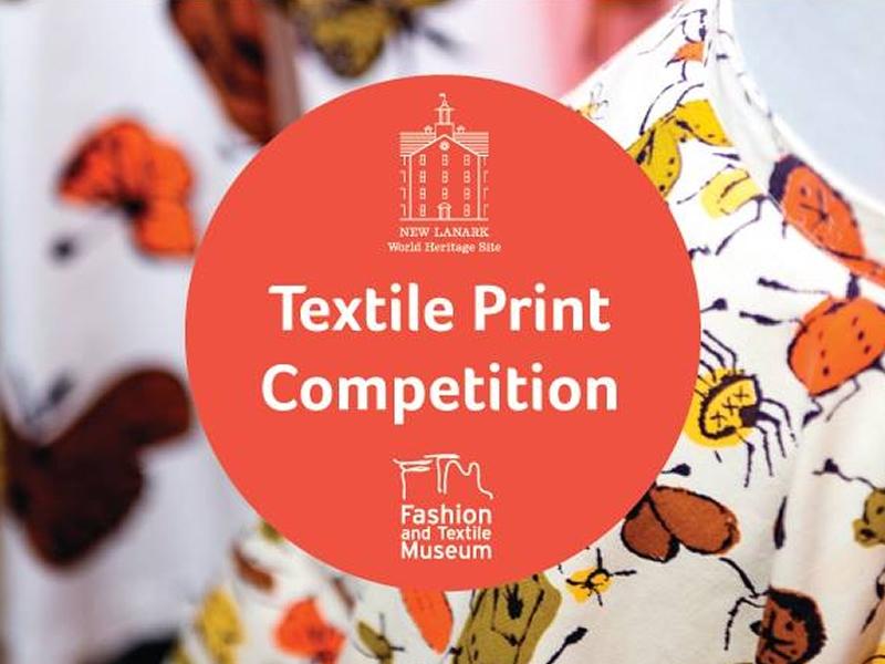 New Lanark launches textile print design competition