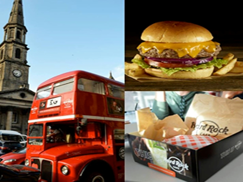 All Aboard The Hard Rock Burger Bus Tour