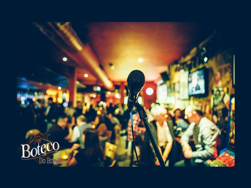 Open Mic Wednesday at Boteco