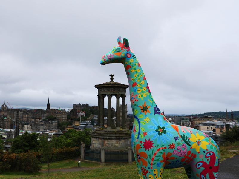 Edinburgh Zoo announces city wide sculpture trail
