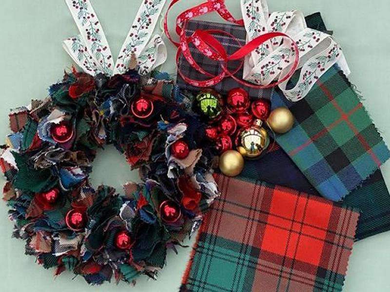 Tartan Wreaths