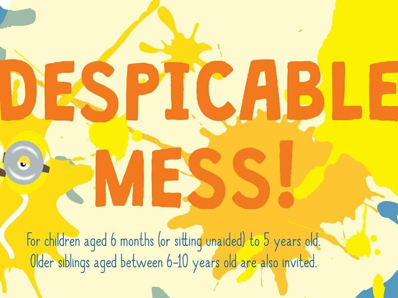 Despicable Mess! - Messy Play Giffnock