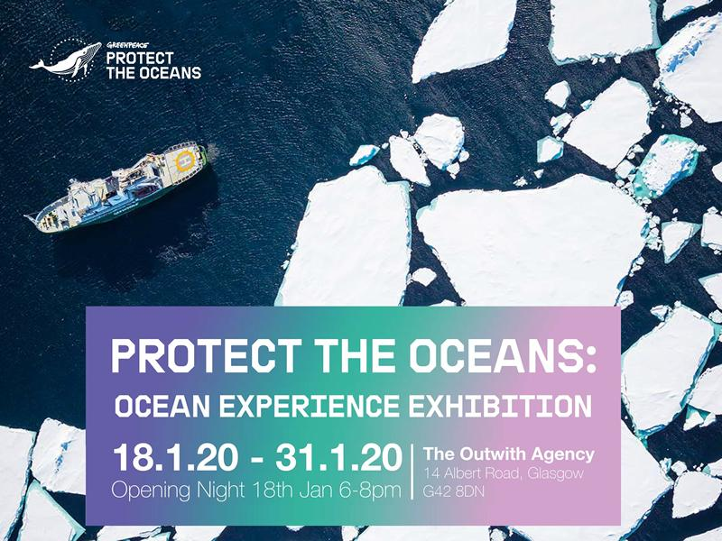 Greenpeace Protect The Oceans: Ocean Experience Exhibition