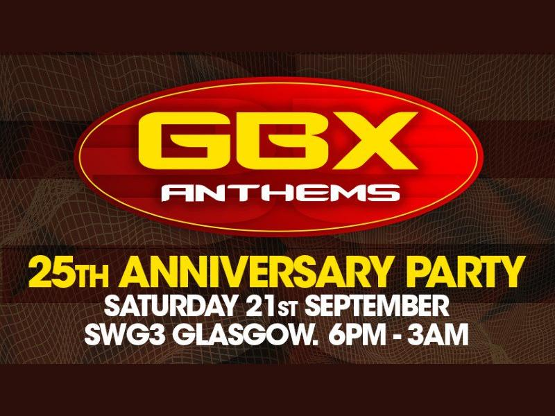 GBX Anthems 25th Anniversary Party
