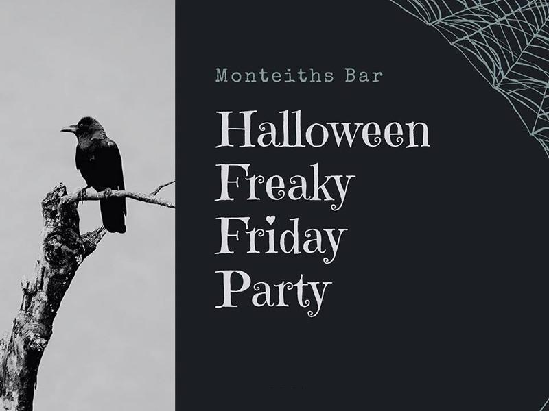 Monteiths Bar Halloween Party