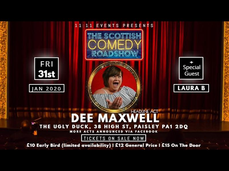 The Scottish Comedy Roadshow - Paisley
