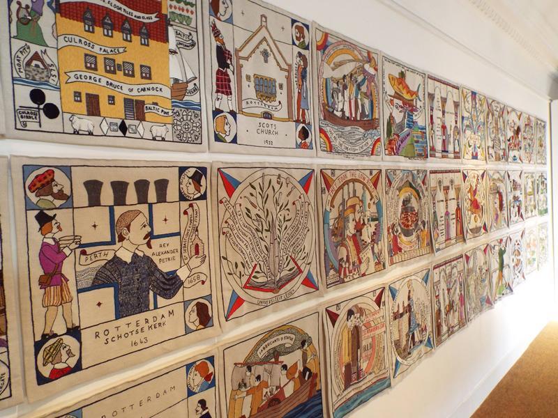 The Scottish Diaspora Tapestry Exhibition