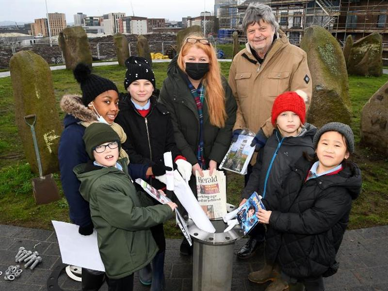 Sighthill time capsules buried
