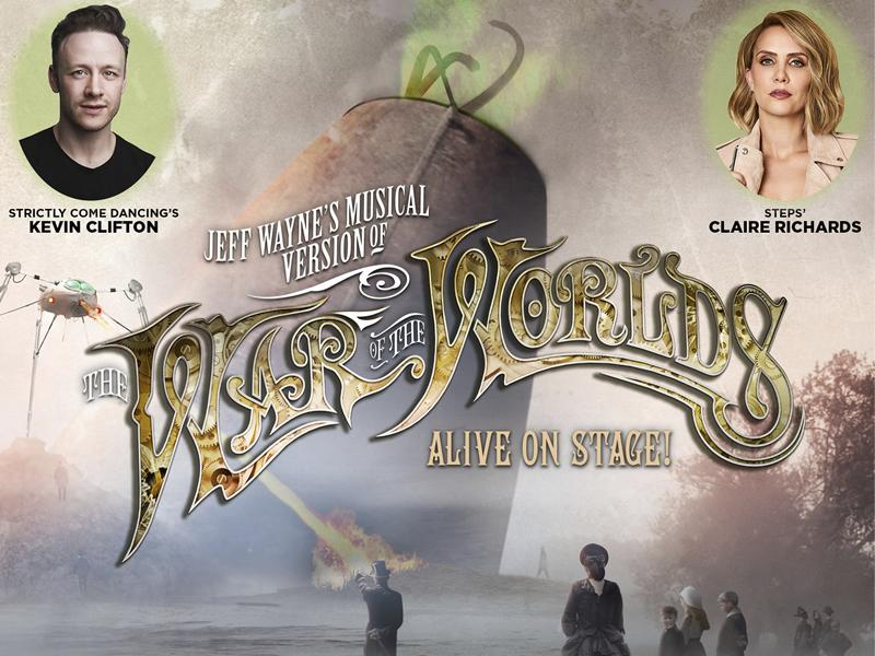 Claire Richards and Kevin Clifton announced for The War of The Worlds