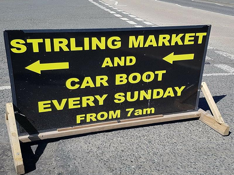 Stirling Market and Car Boot