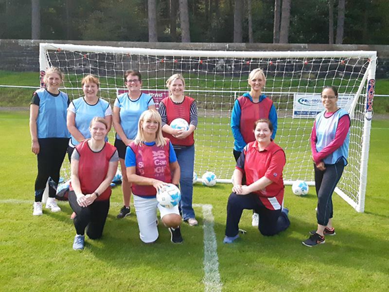 Giffnock Soccer Centre Ladies Walking Football Sessions
