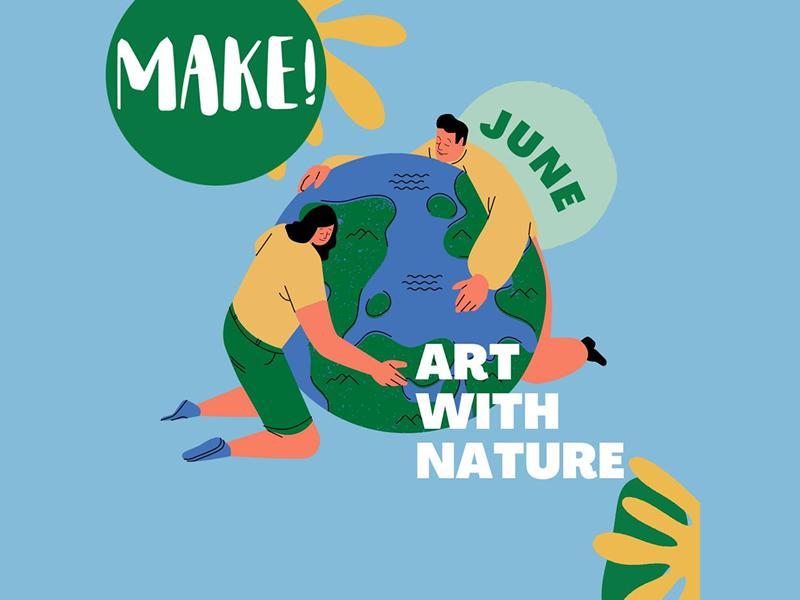 Outdoor Nature Art Workshops for Kids