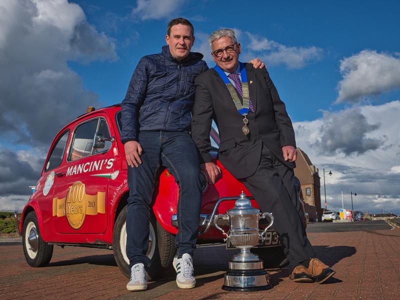 Ayr company scoops best ice cream in UK award!