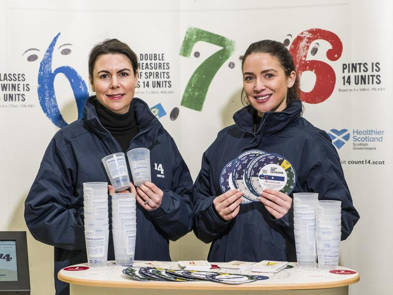 Count 14 Roadshow urges shoppers to think about their drinking