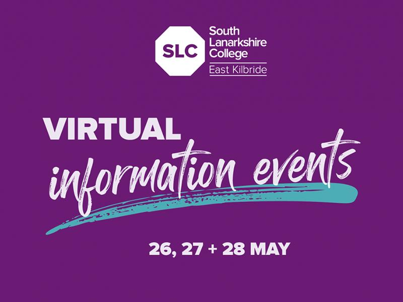 South Lanarkshire College Virtual Information Events
