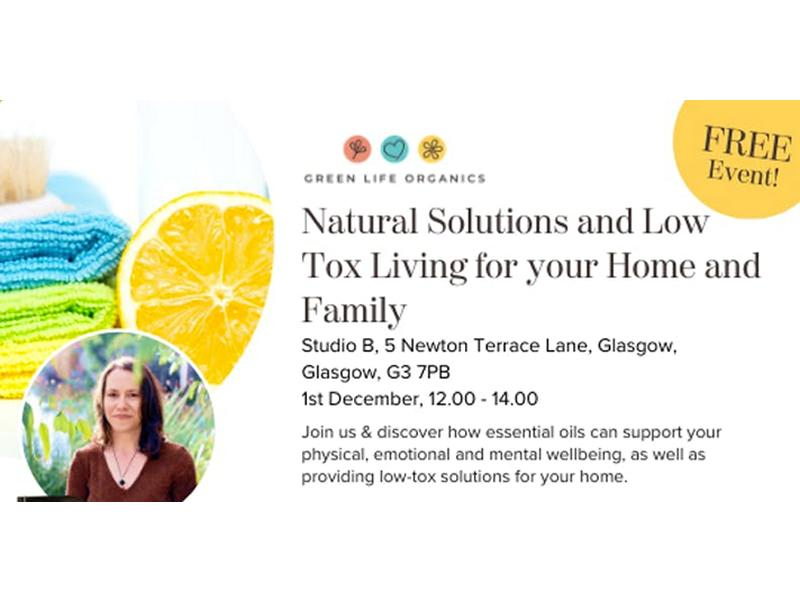 Natural Solutions and Low Tox Living for your Home & Family