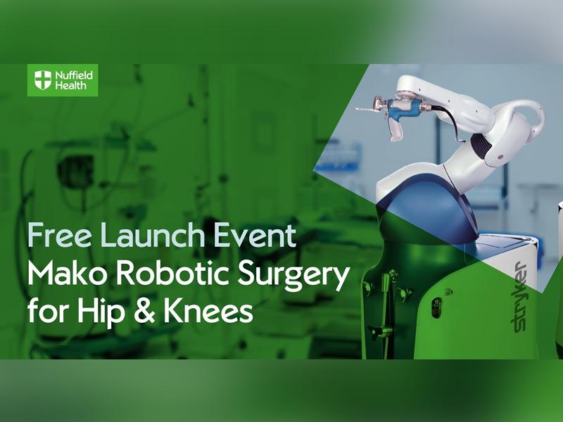 Free Robotic-Assisted Surgery Launch Event For Hips and Knees
