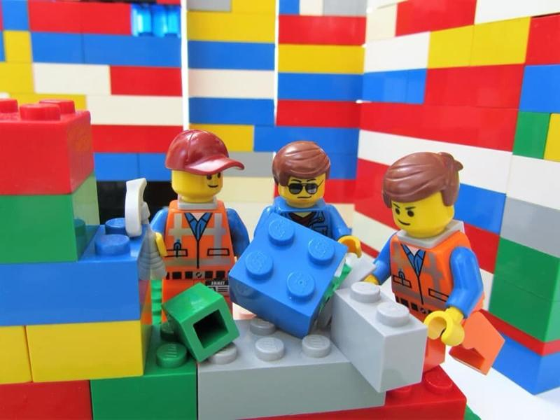 Construction Club Lego Therapy