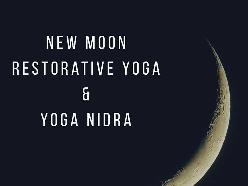Online New Moon Restorative Yoga & Yoga Nidra