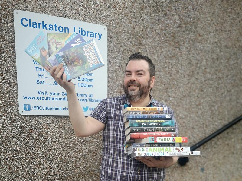 Book browsing back for East Renfrewshire libraries