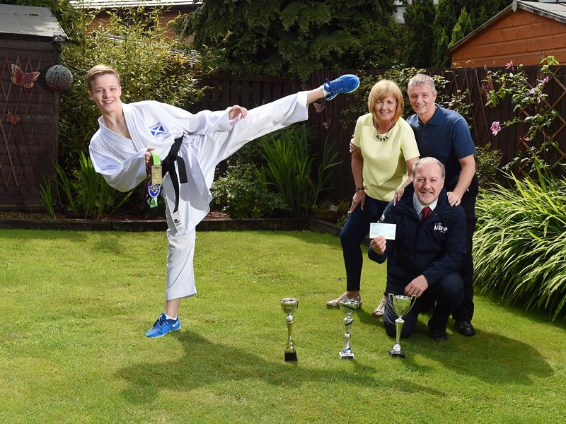 Homebuilder helps youngster fulfil World Karate Championships dream