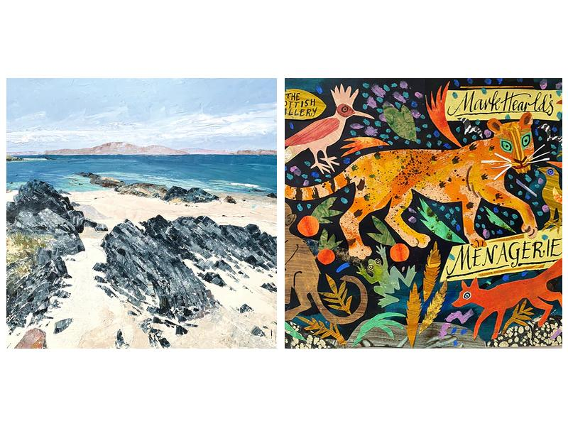 A Family Affair and Mark Hearld's Menagerie