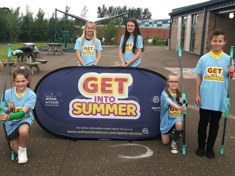 Youngsters can enjoy free fun and games all summer long