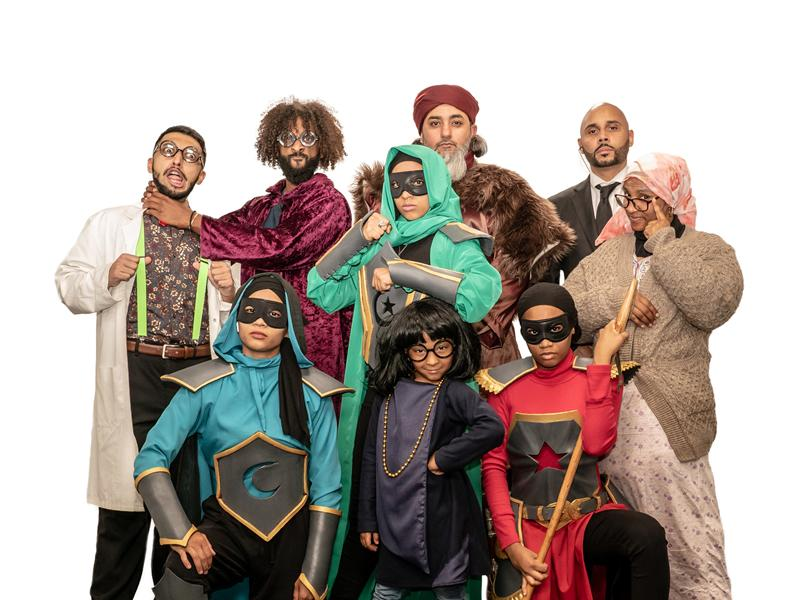 The Great Muslim Pantomime: Super Souls
