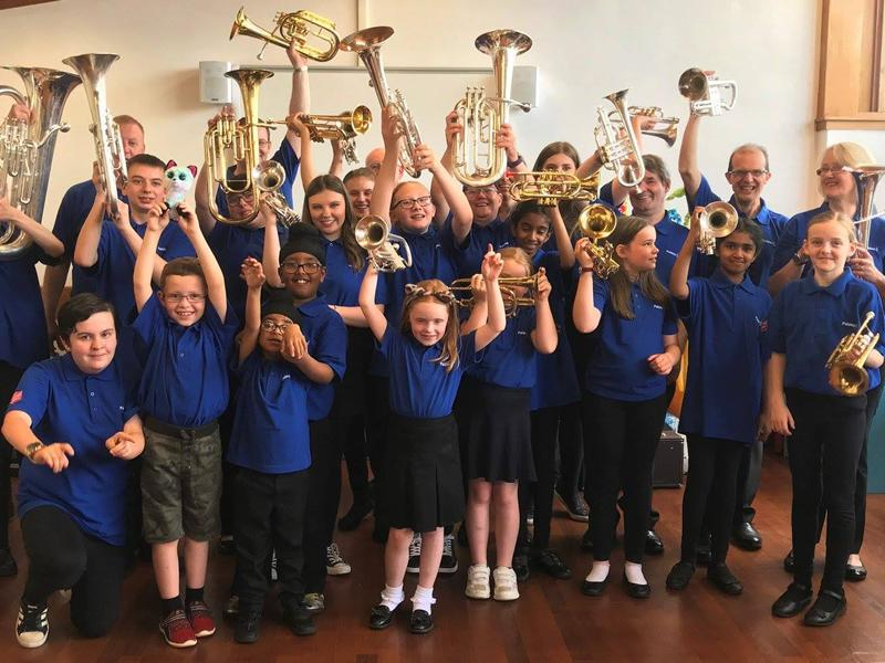 Paisley Junior & Learners Brass Band
