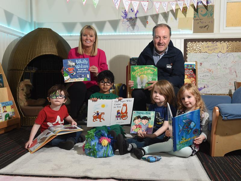 Langside Nursery School benefits from storytelling bursary