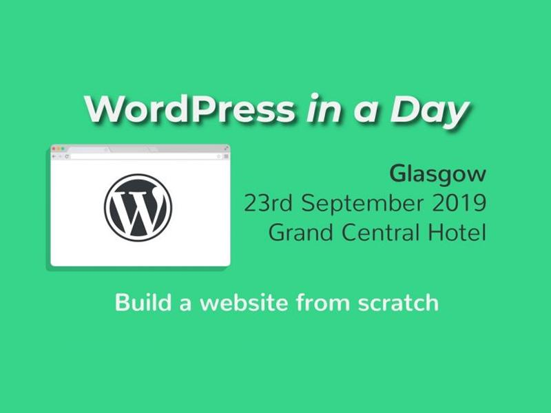WordPress in a Day