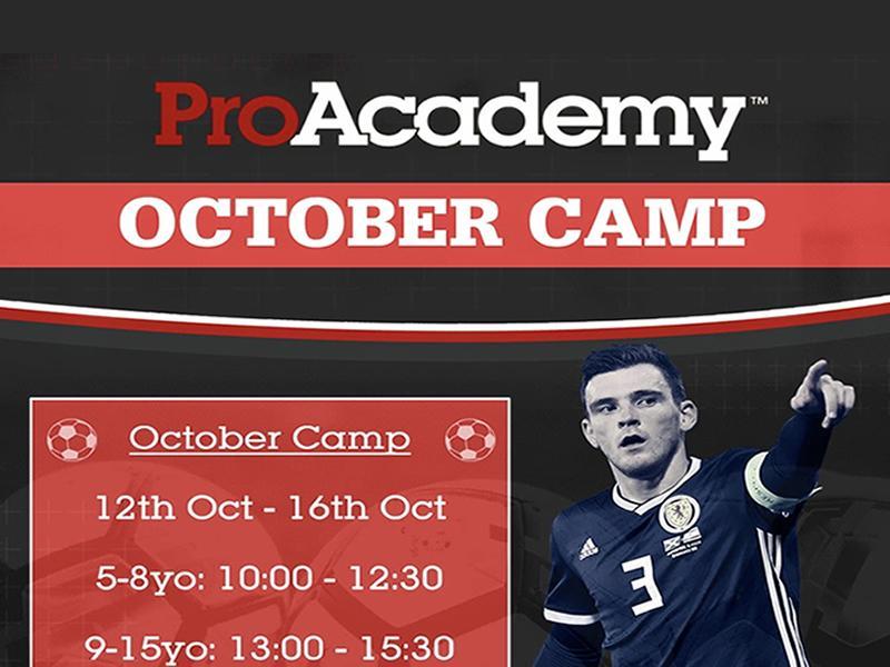 ProAcademy October Football Camp