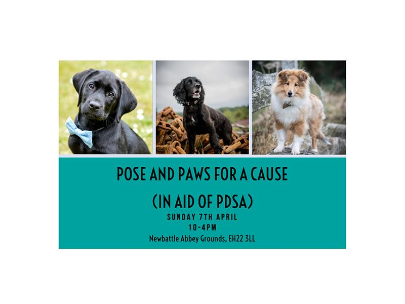 Pose and Paws for a Cause: In Aid of PDSA Edinburgh
