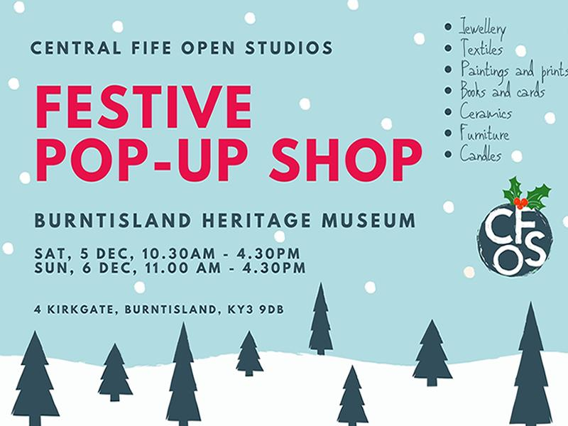 Central Fife Open Studios Festive Pop-Up Shop