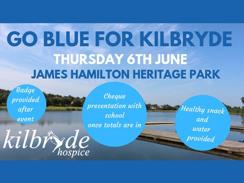Go Blue for Kilbryde - Sponsored Walk