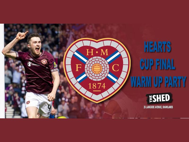 Hearts Supporters Cup Final Pre-Party